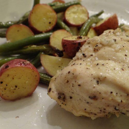 Healthy Lemon Braised Chicken