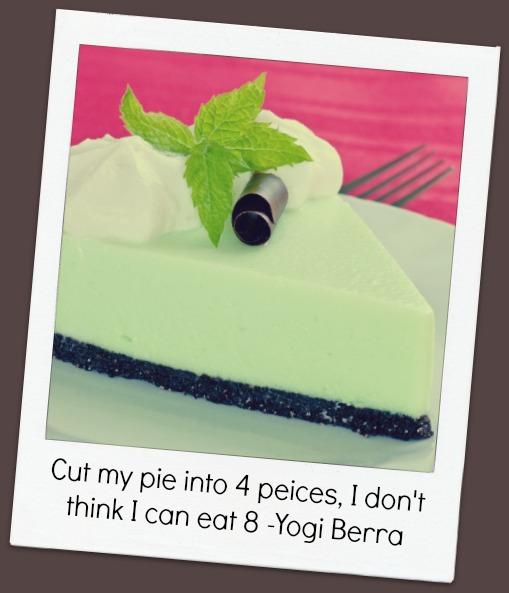 Pie Quote