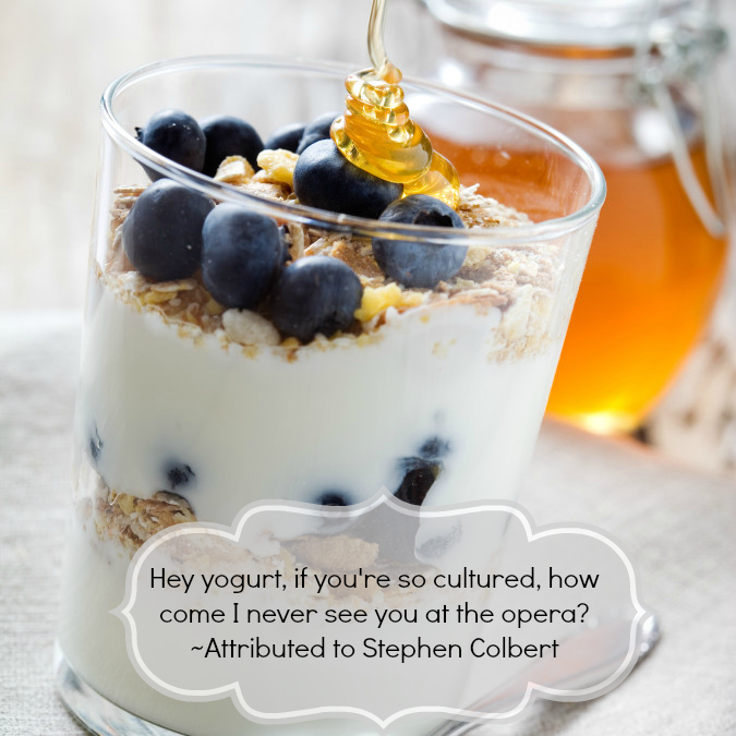 Yogurt parfait snack rule