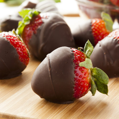 Juicy Chocolate Covered Strawberries