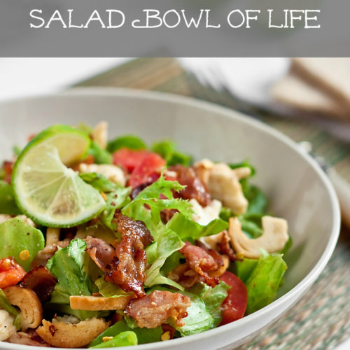 Friends with Salads