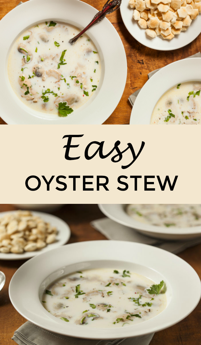 Oyster Stew Recipe With Canned Oysters Snack Rules