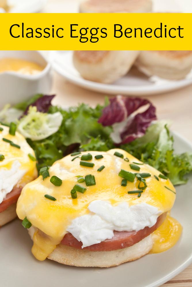 eggs benedict on muffins recipe