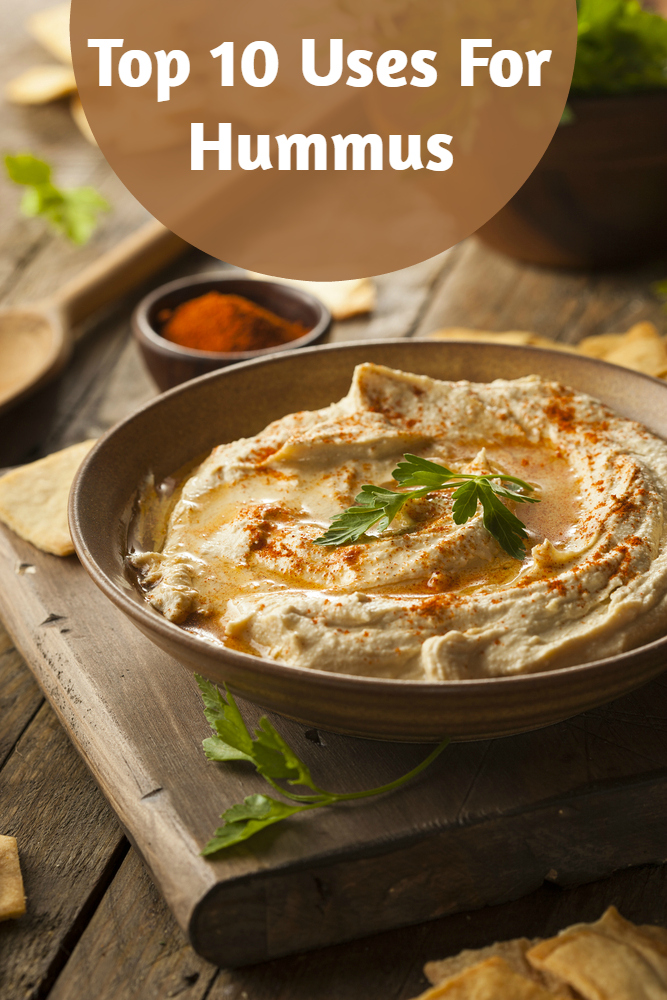 top uses for hummus