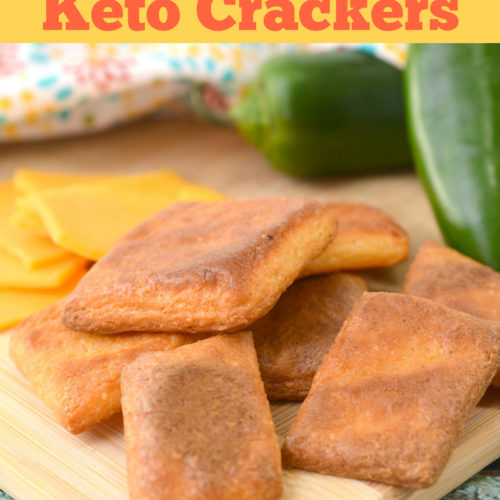 Cajun Spice Keto Crackers