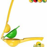 Yimobra Original Manual Lemon Squeezer,Hand Orange Citrus Lime Juicer Press Premium Quality Professional Kitchen Tool Yellow