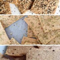 Almond Flour Crackers (3 Ways!)