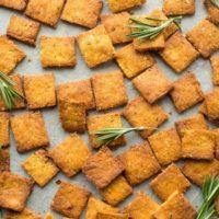 Sweet Potato Paleo Crackers