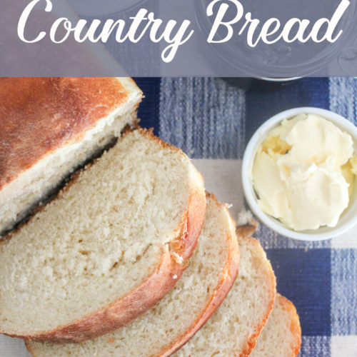 Easy White Country Bread