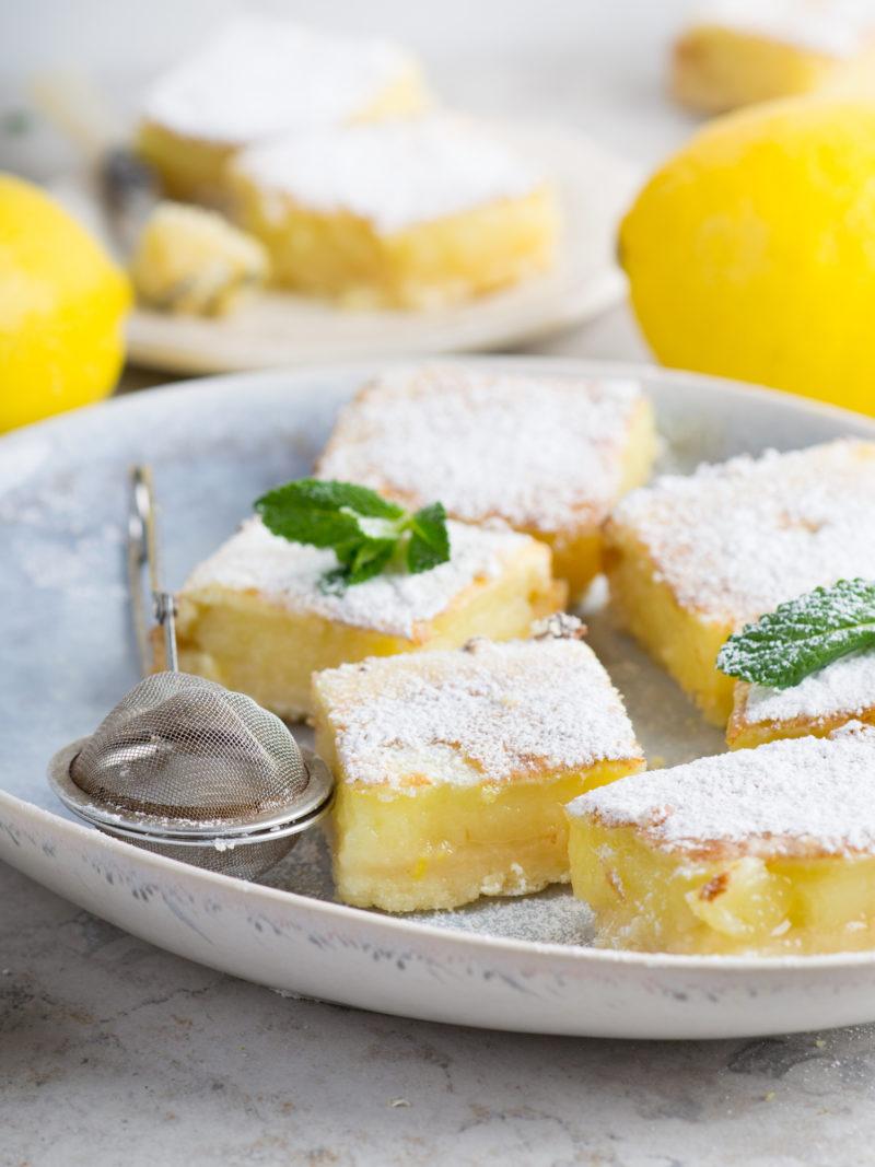 really easy lemon bars