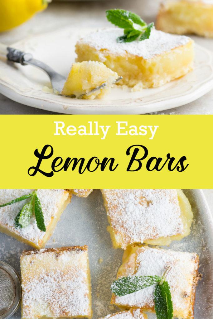 Really easy lemon bars recipe