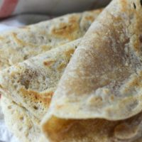 Tiger Nut Flour Tortillas {Paleo, AIP, egg-free, nut-free, no rolling out!}