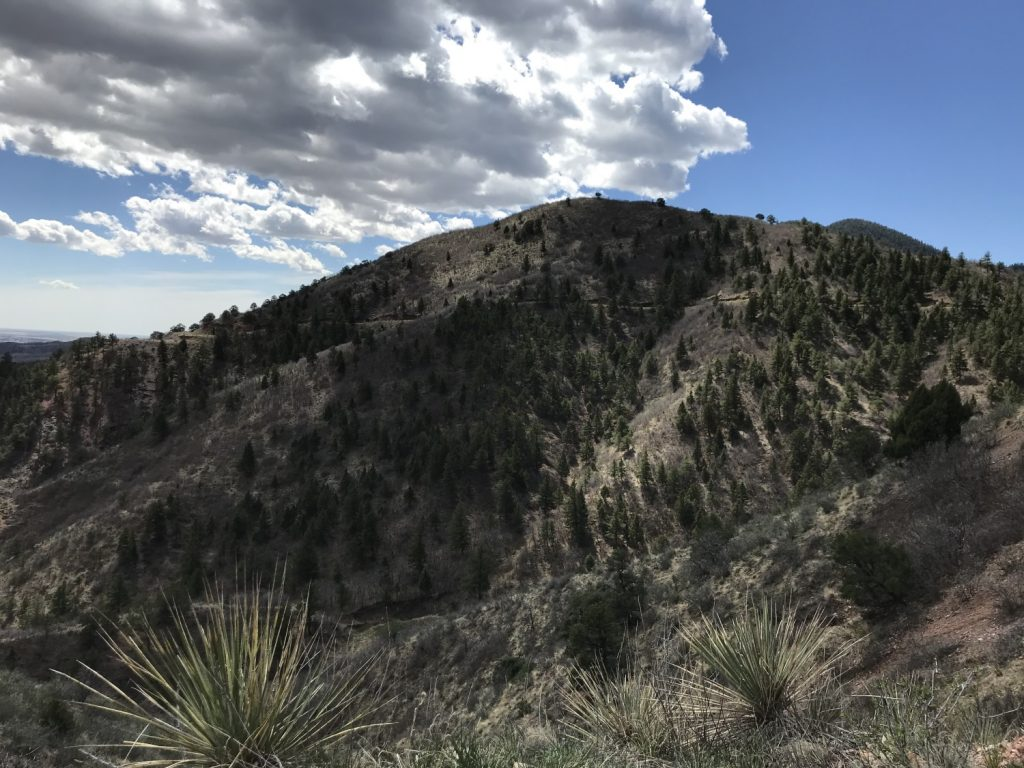 Intemann trail and Iron Mountain