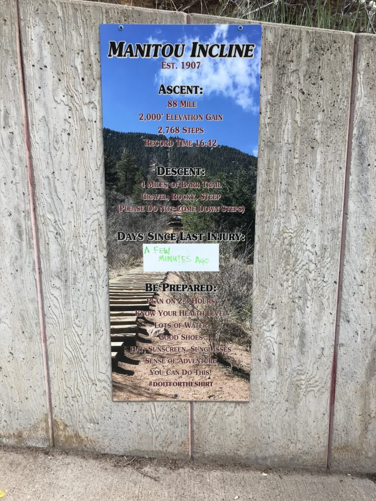 Manitou Incline death dangers