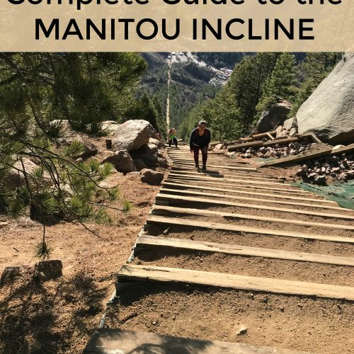 The complete guide to climbing the Manitou Incline in Manitou Springs Colorado, near Colorado Springs. The Manitou Springs incline is a challenging hike near Pikes Peak. Are you up for the challenge? #manitousprings #incline #manitouincline #hiking #coloradosprings