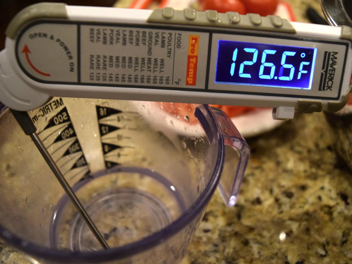 water temperature for pizza dough